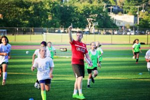 Coaching Success at summer soccer camps