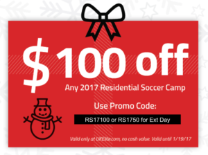 Soccer Camp Discount